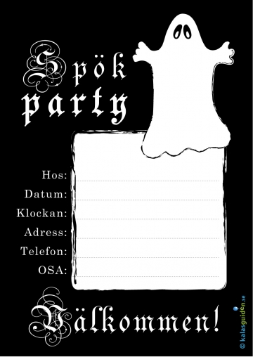 party spöken