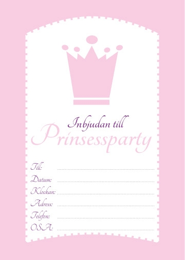 prinsessparty